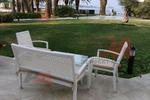 Ратанови скъпи дивани за заведения