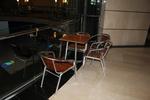 Столове от алуминий за заведение
