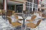 Комфортни алуминиеви столове за заведение