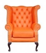 производител Диван Chesterfield в оранжево
